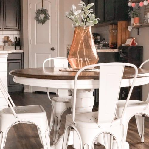 DIY Refinished Farmhouse Table (Beginner Tutorial)