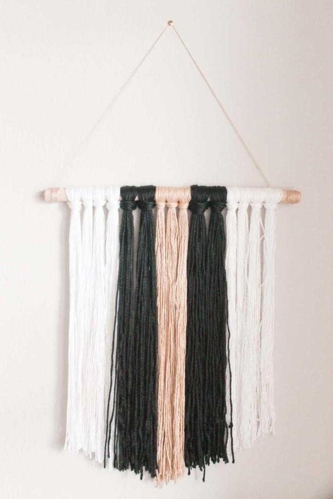 diy boho decor and yarn art