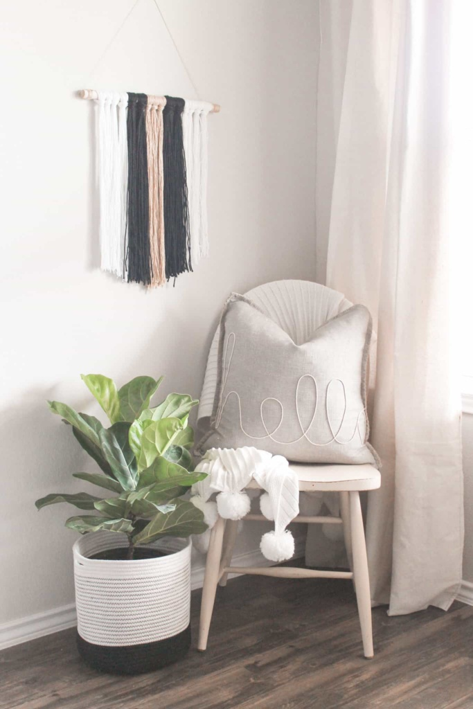 how to make a simple wall hanging