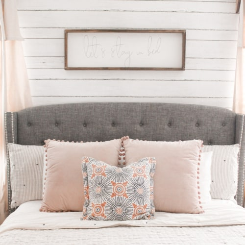 Decorating on a Budget: Farmhouse Master Bedroom Makeover