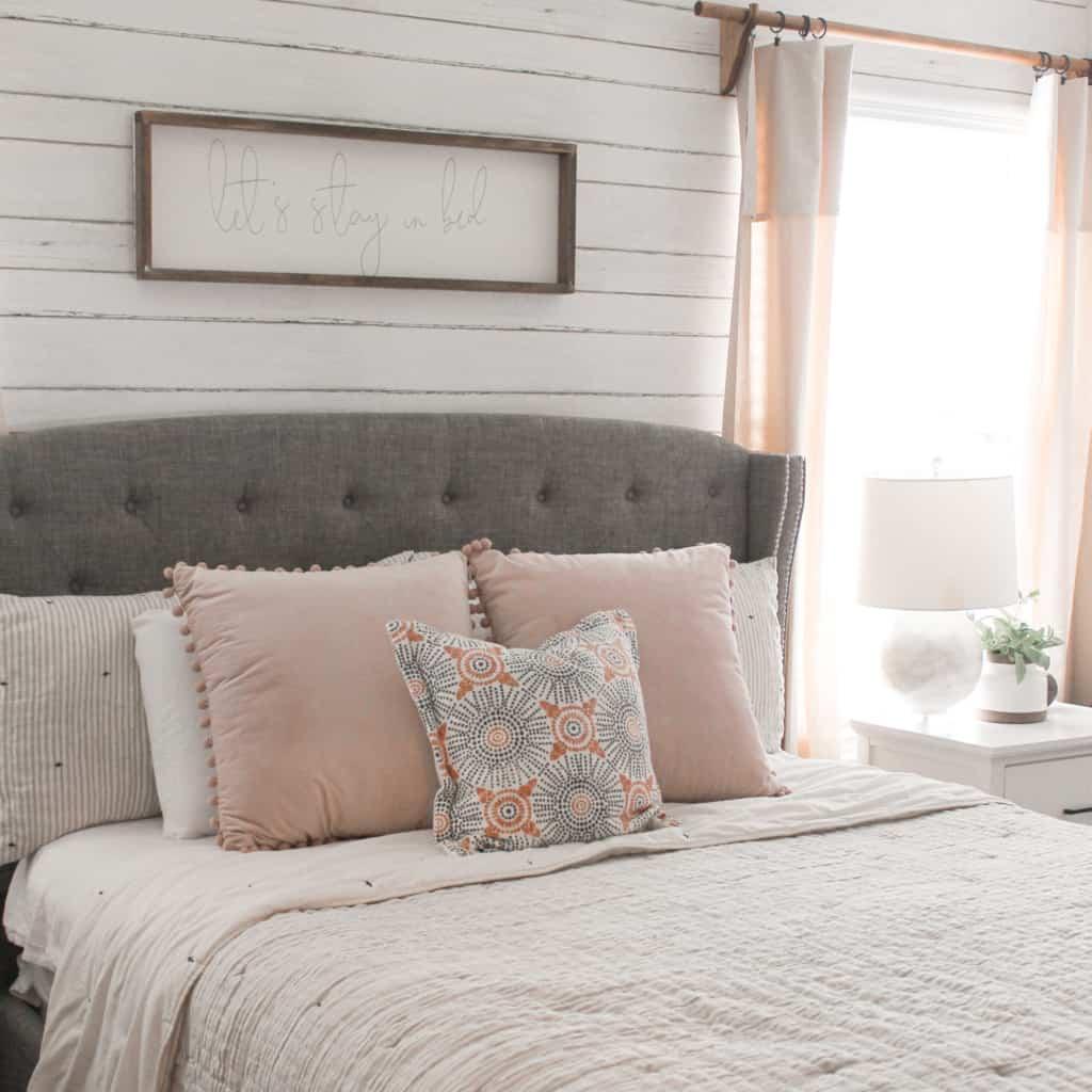 Budget-Friendly Master Bedroom