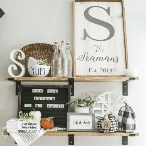 Stylish + Cheap Fall Decor for Your Home This Season