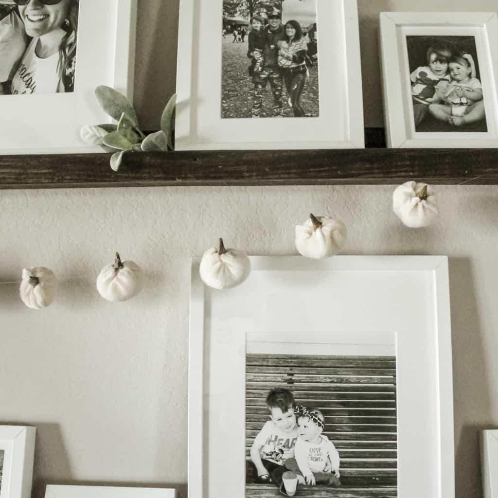 DIY Pumpkin Garland Tutorial