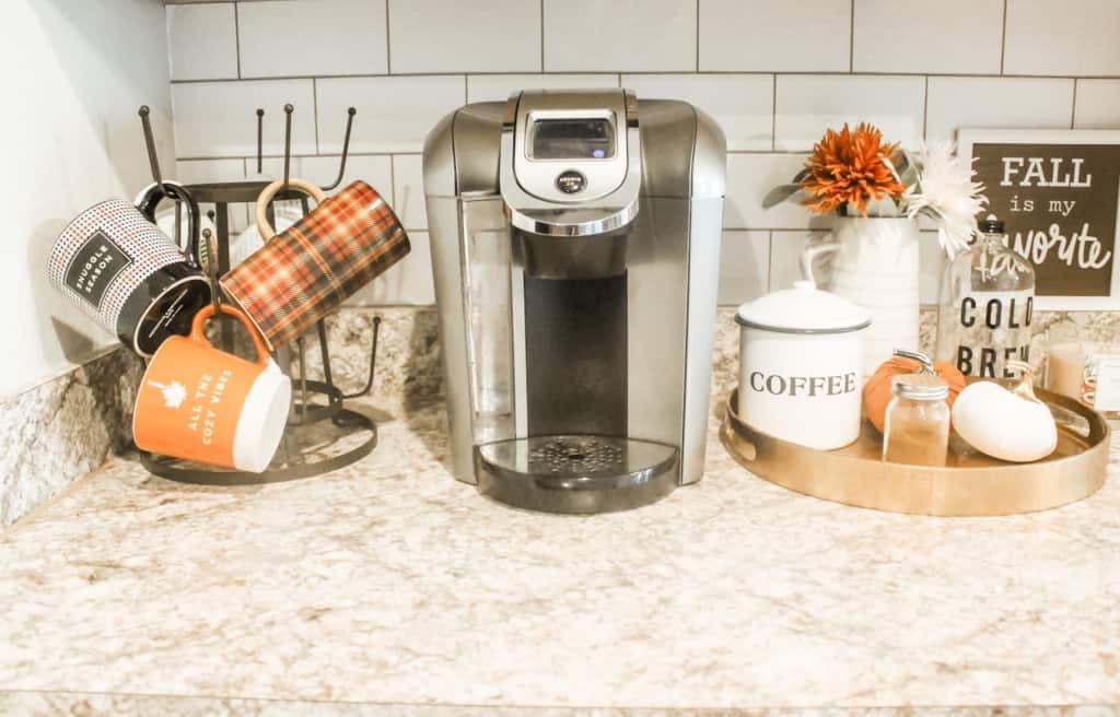 Fall Home Tour kitchen