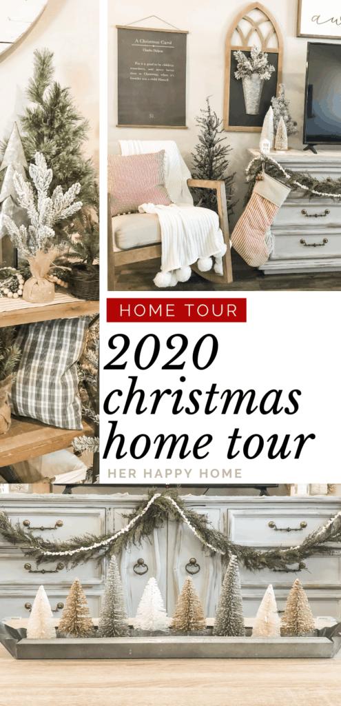 2020 Christmas home tour