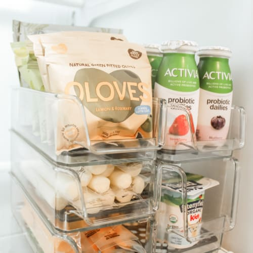 Healthy Postpartum Snacks: How to Easily Stock & Organize Your Fridge After Baby