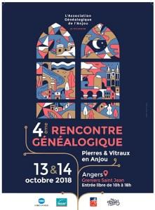 4e rencontre généalogique à Angers @ Salle des Greniers St Jean