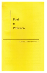 booklet-Paul to Philemon