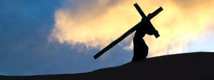 Take up your cross and follow me