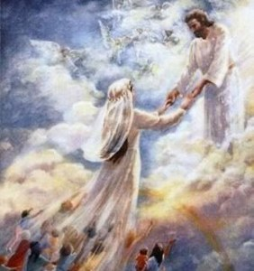 the bride class will be exalted to heavenly glory