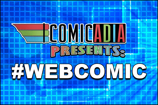 Hashtag Webcomic Title Card