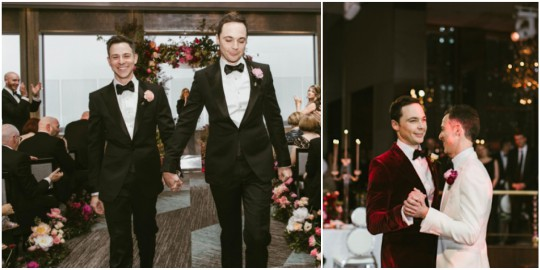 Photos: Big Bang Theory Star 'Sheldon Cooper' Weds Fiance