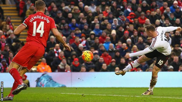 Rooney Strike Settles Sour Match Against Liverpool