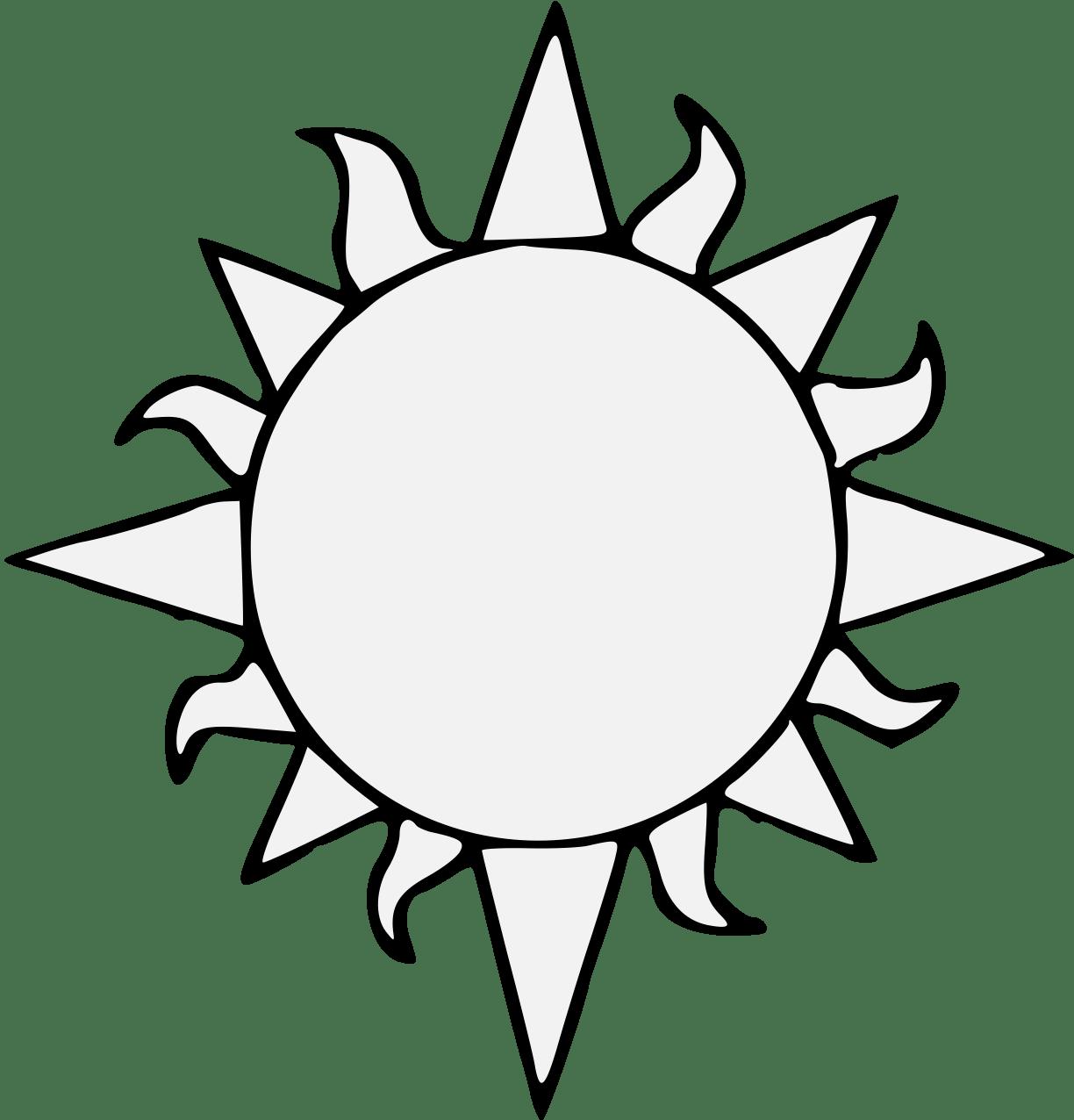 Printables Of Sun