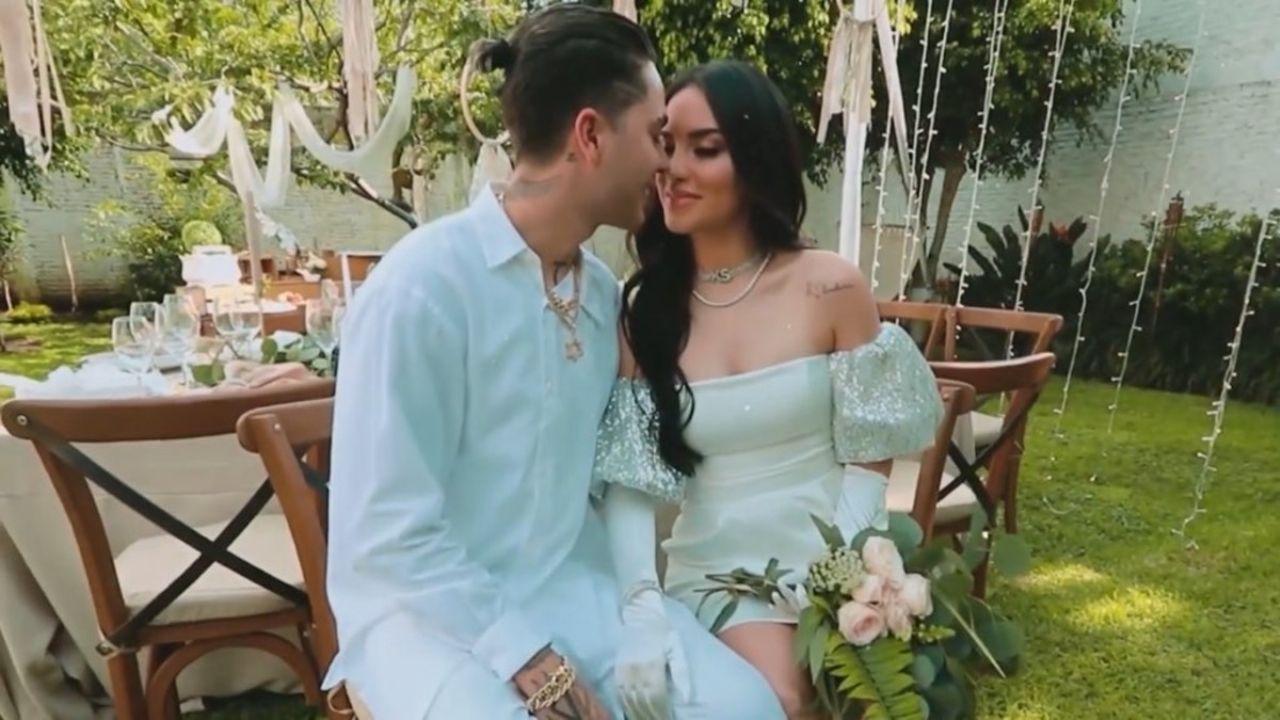 Juan de Dios Pantoja y Kimberly Loaiza celebran su boda