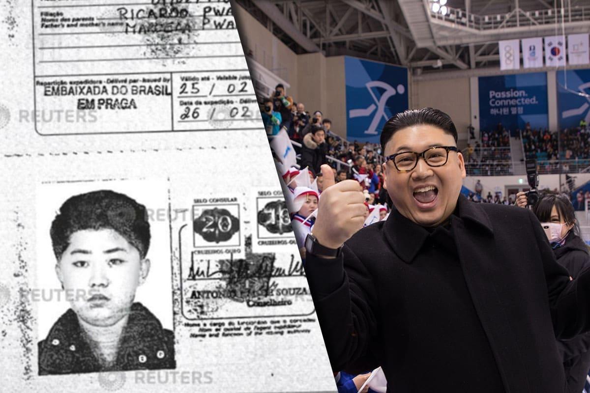 Muestran pasaporte falso de Kim Jong-un y su padre