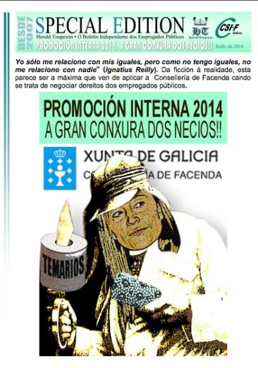 Especial Promoción Interna 2014