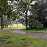 Regen im Fredenbaumpark Dortmund