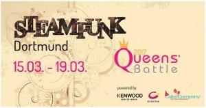 Poster Queens Battle und Steampunkt