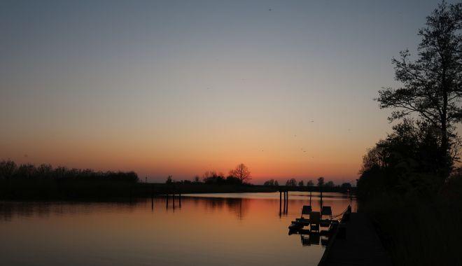 Zoutkamp Sonnenuntergang