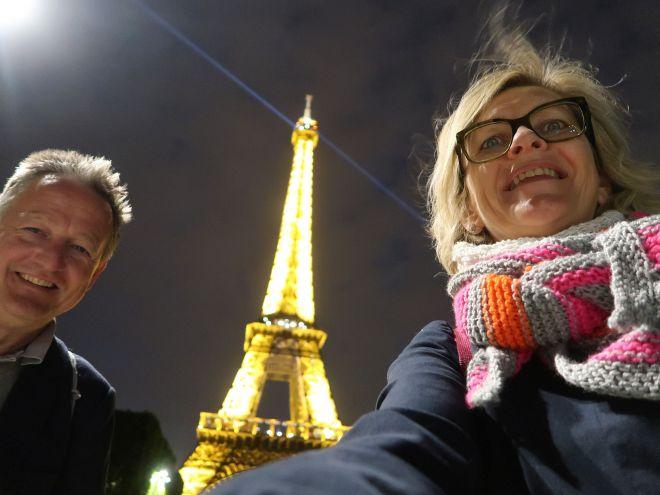 Eiffelturm im Dunkeln