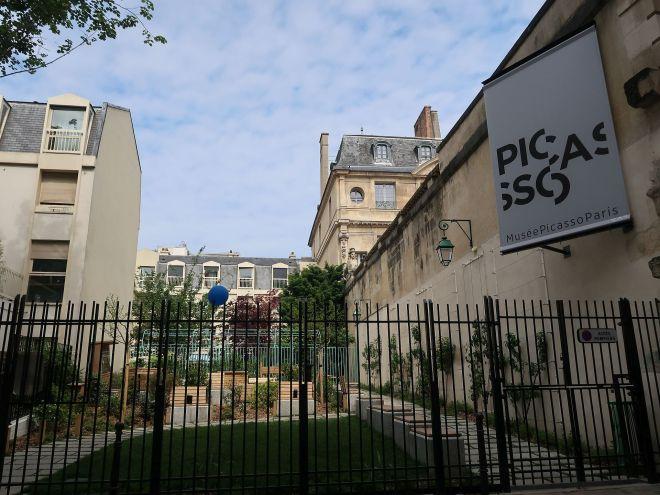 Hinterhof zum Picassomuseum Paris