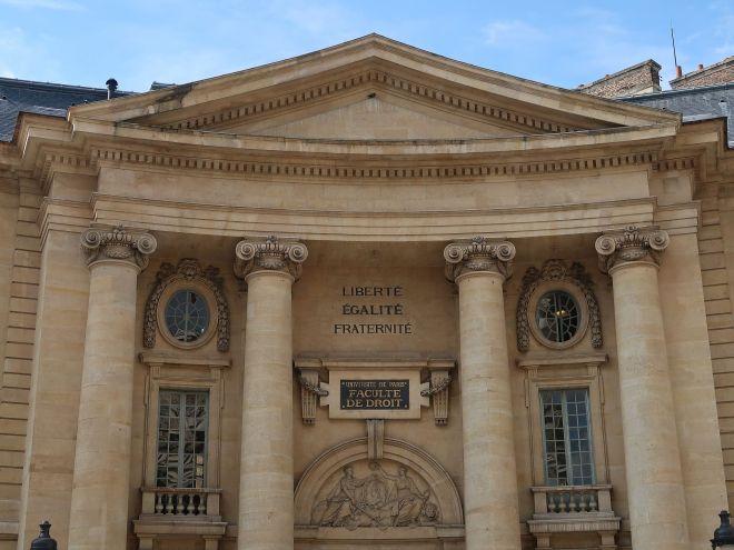 Sorbonne Rechtsfakultät Faculte de Droit