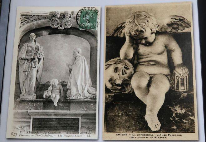 Kathedrale Amiens weinender Engel