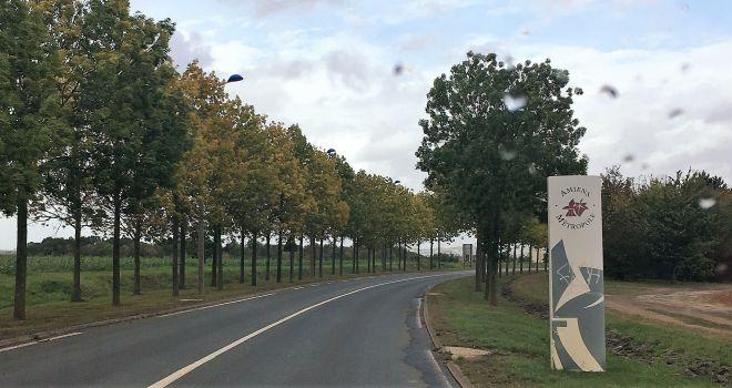 Amiens Ortseingang