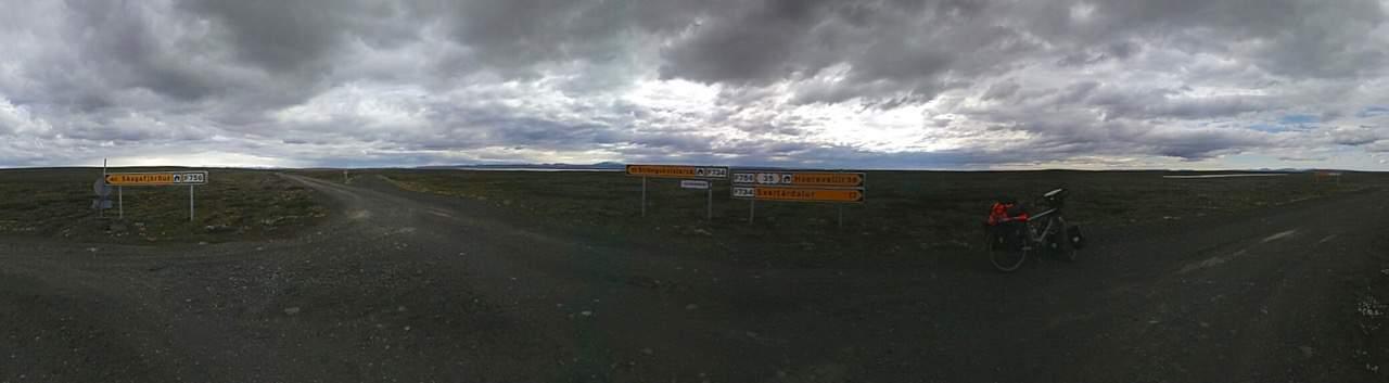 First 'crossroads' in 50km