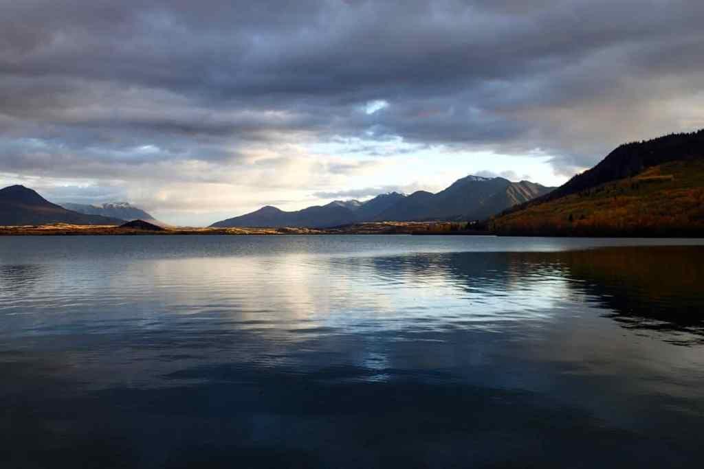 Kamperen aan een prachtig meer