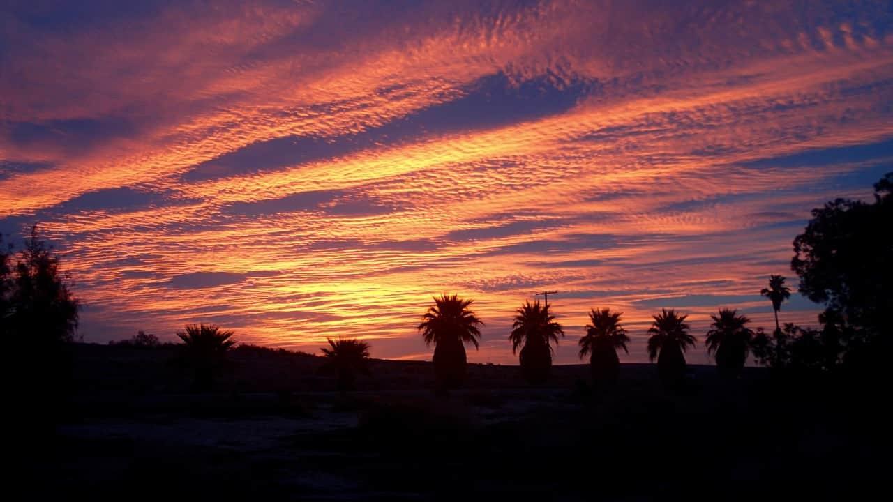 Ook lekker wakker worden aan de Salton Sea