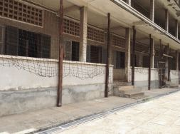 Block C. Covered with barbed wire