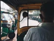 The rikshaw driver