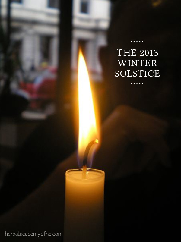 The 2013 Winter Solstice