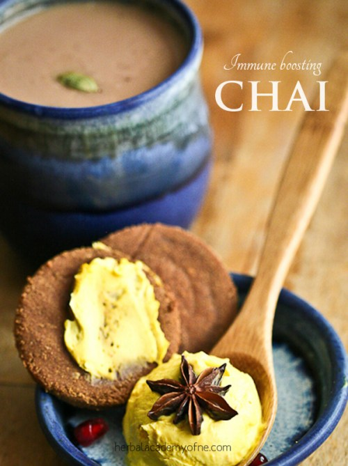 immune boosting chai recipe - chai tea recipe