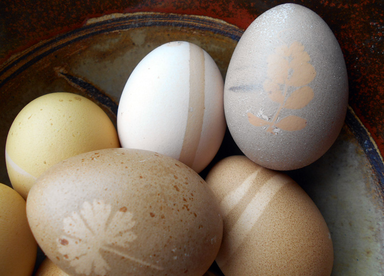 4 Easter Egg Decorating Techniques from the Herbal Academy blog