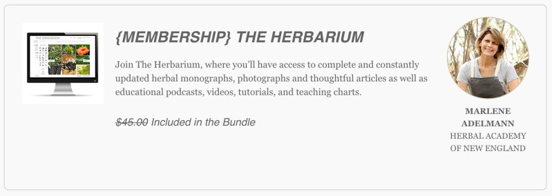 Ultimate Healthy Living Bundle Sale is going on now thru Sept 14! For $29.97, you get access to The Herbarium membership (Plant Database) along with 90 other Healthy Living Resources from ebooks to ecourses!