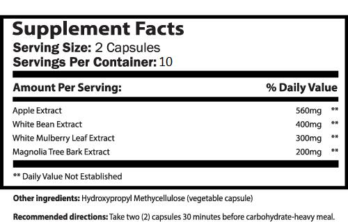 KetoSavior™ supplement facts