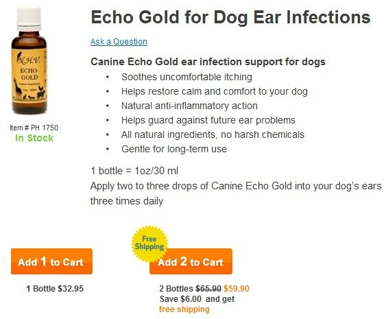 All natural, holistic dog ear infections treatments | Herbal Dog ...
