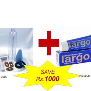 Buy Enlargement Pump with Largo Cream