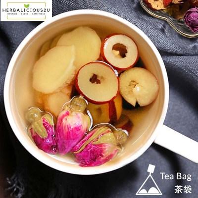 healthy drink- bentong ginger rose tea
