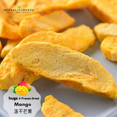 Freeze Dried Mango Healthy Snacks Natural Snacks Dried Fruits Vegetables Herbalicious2u