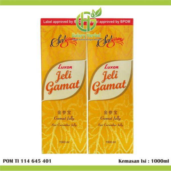 Luxor Jelly Gamat 1 Liter