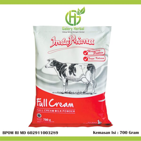 Susu Indoprima Full Cream 700gram
