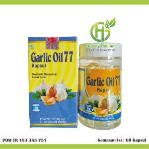 GARLIC OIL 77 60 KAPSUL