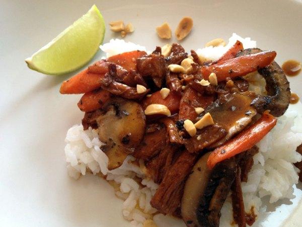 Thai-styled Pork Stew