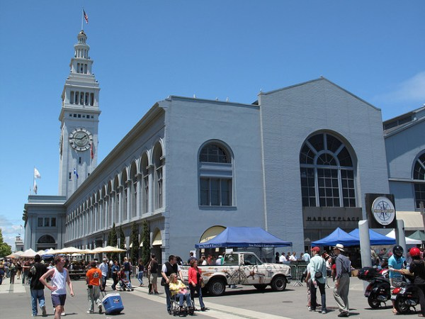 San Francisco, Embarcadero Ferry Building Farmer's Market