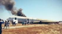 San Francisco Plane Crash, Twitter Pic @Eunner