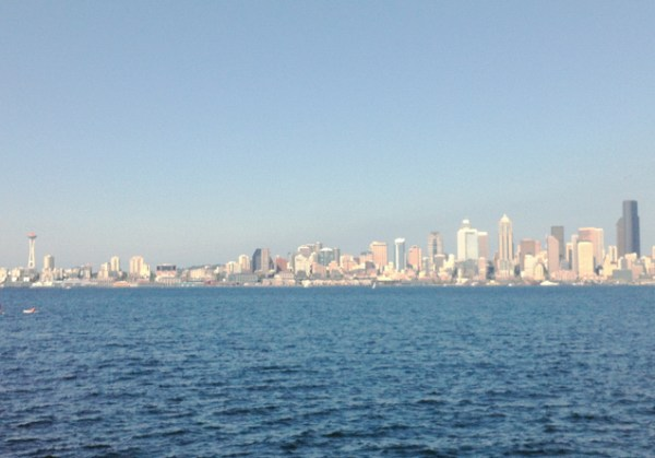 Visit on a sunny day for the best views of Seattle from the West side